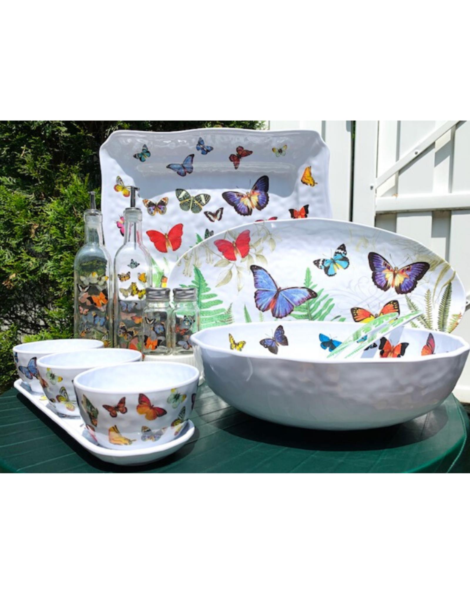 Papillon Melamine Bistro Bowl