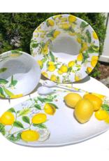 Lemon Basil Melamine Medium Bowl