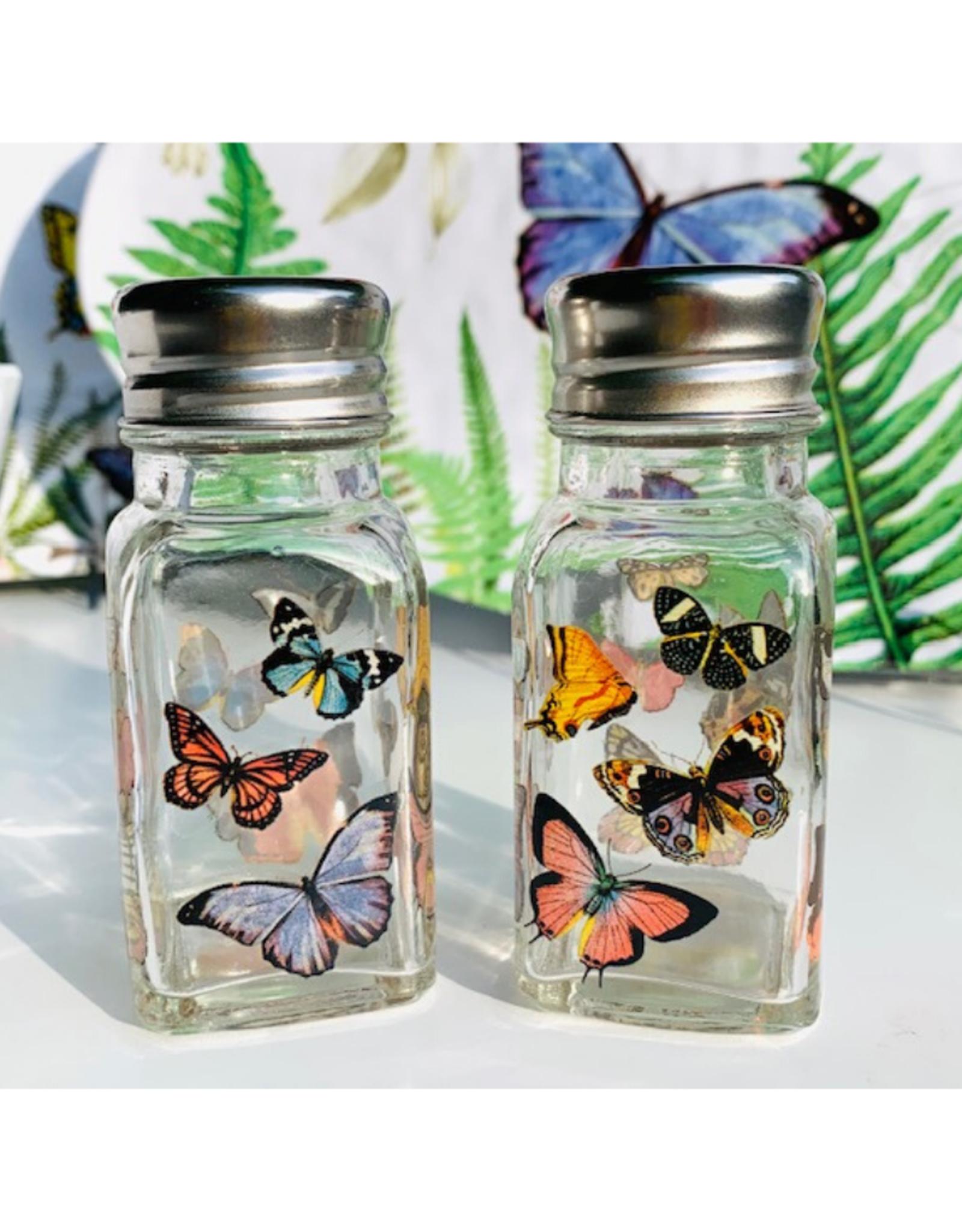 Papillon Salt & Pepper Shakers
