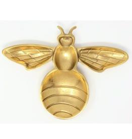 Gilded Bee Tray