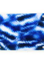 Modern Acrylic Blue Fur Board