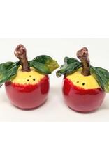 Apple Salt & Pepper Shakers