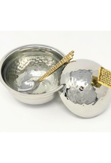Mosaic Honey Dish & Spoon