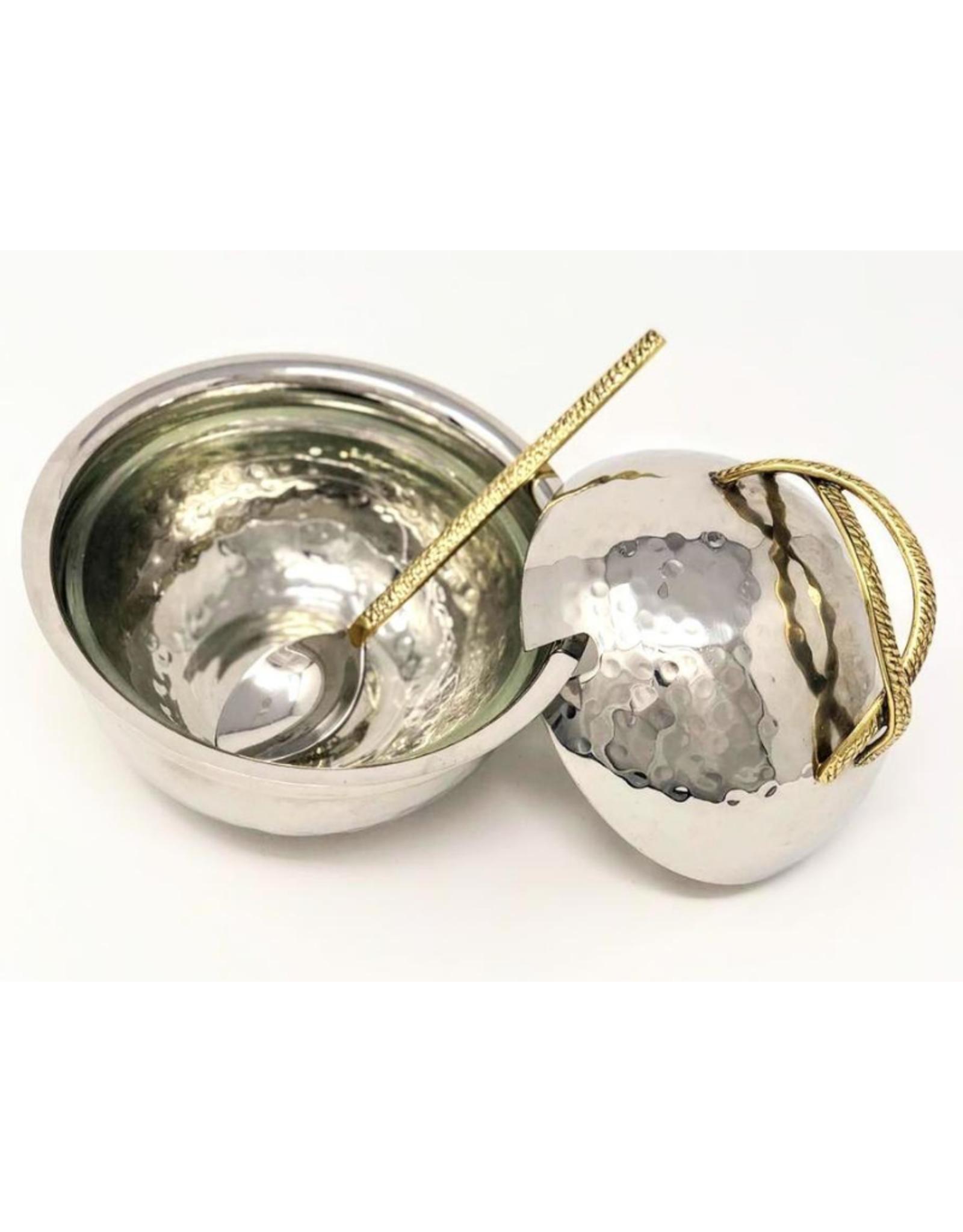 Rope Handle Honey Dish & Spoon