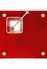 Red Apple and Honey Platter