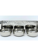Beaded 3 Section Bowls With Tray