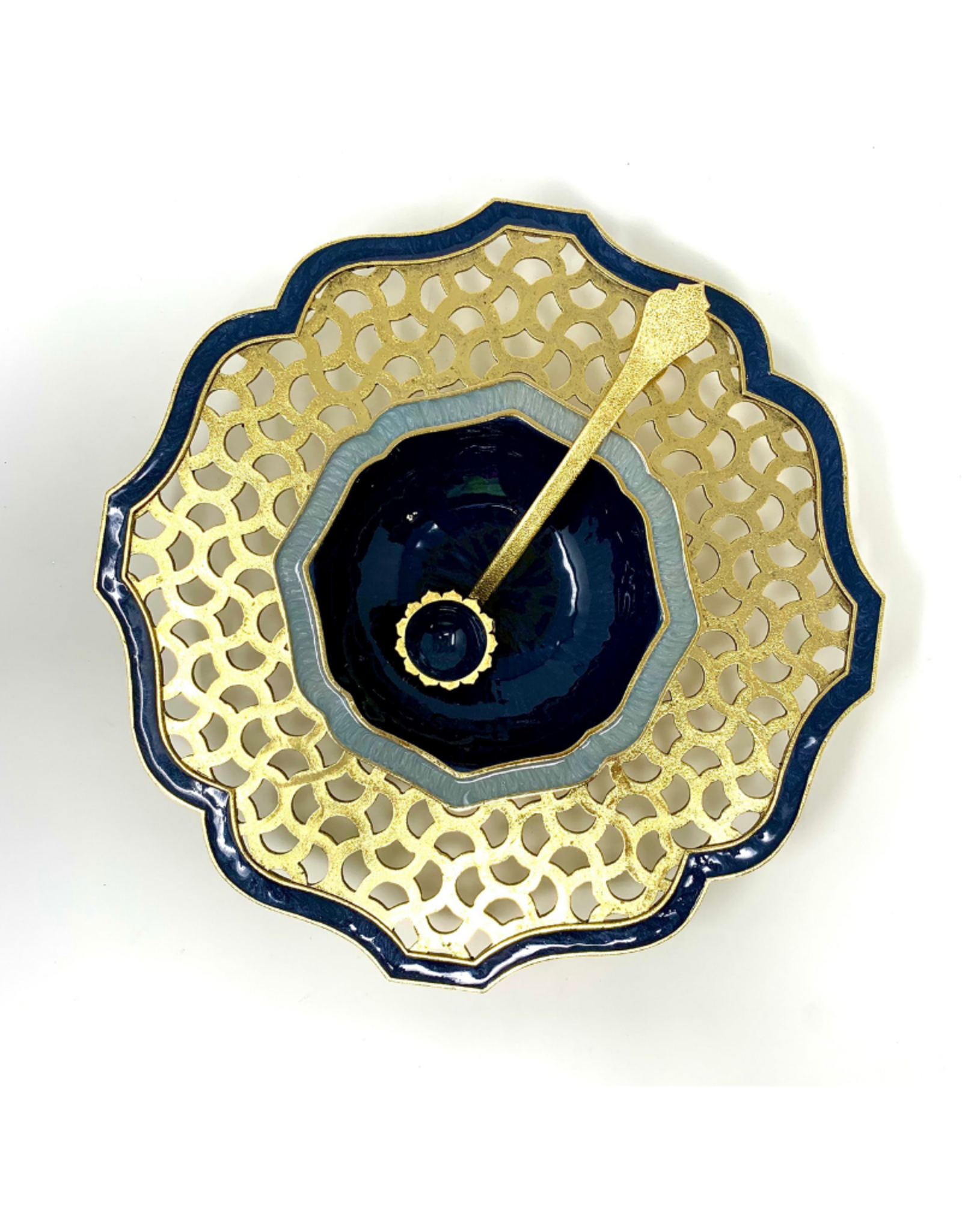 Marrakesh Honey Dish With Spoon