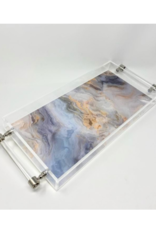 Assorted Prints Acrylic Tray