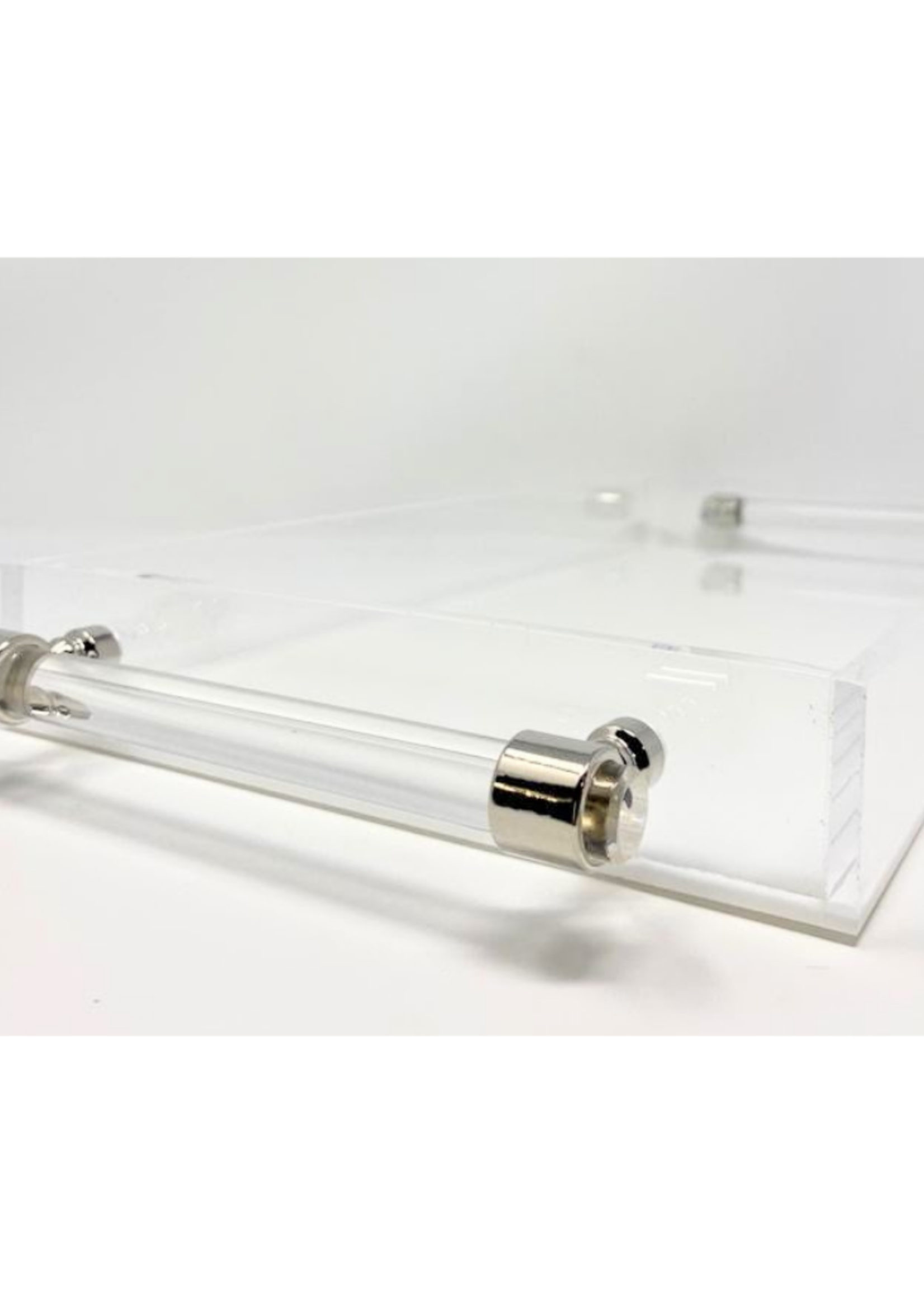 Assorted Solid Colors Acrylic Tray