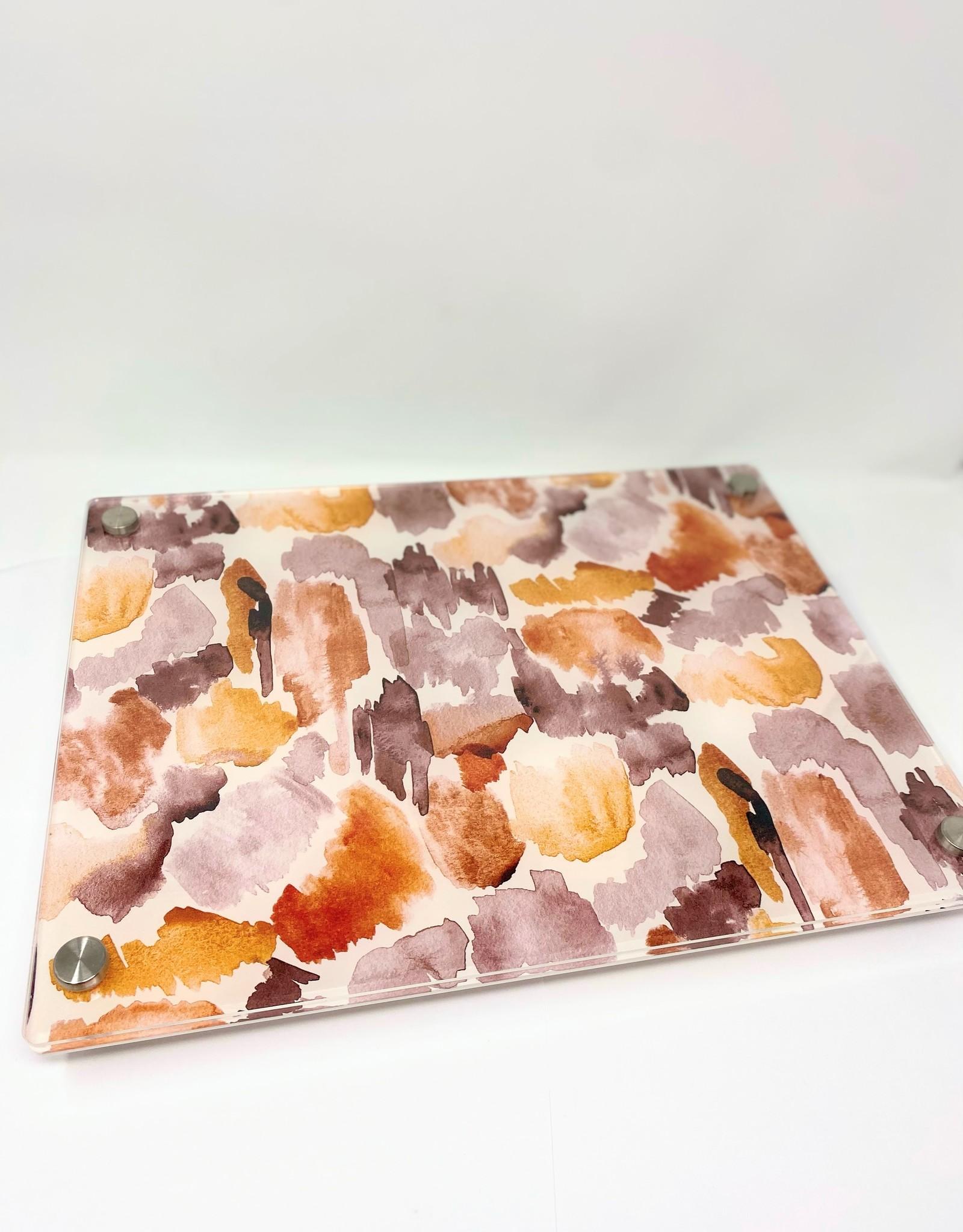 Modern Acrylic Stroke of Nudes Board