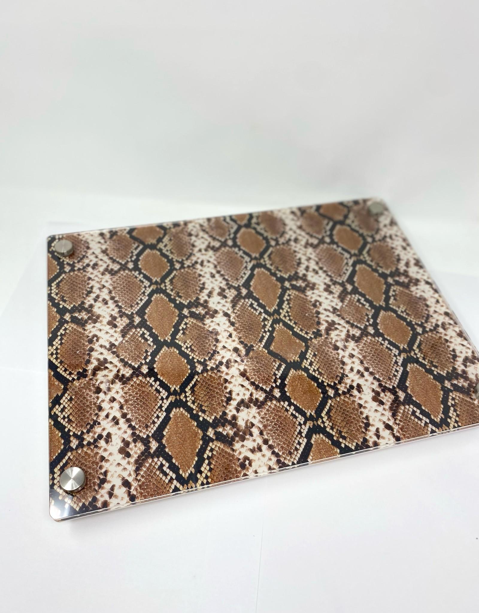 Modern Acrylic Snake Skin Board