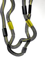 CHRISTINA BRAMPTI Long Freeform Tulle & Aluminum Necklace