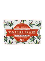 Tauri Gum CBD Infused Supplement Blood Orange Flavor