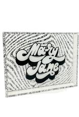 Mary Jane Acrylic Vanity Tray