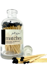 Full of Fire Matches Black