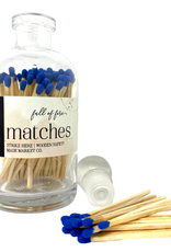 Full of Fire Matches  Blue