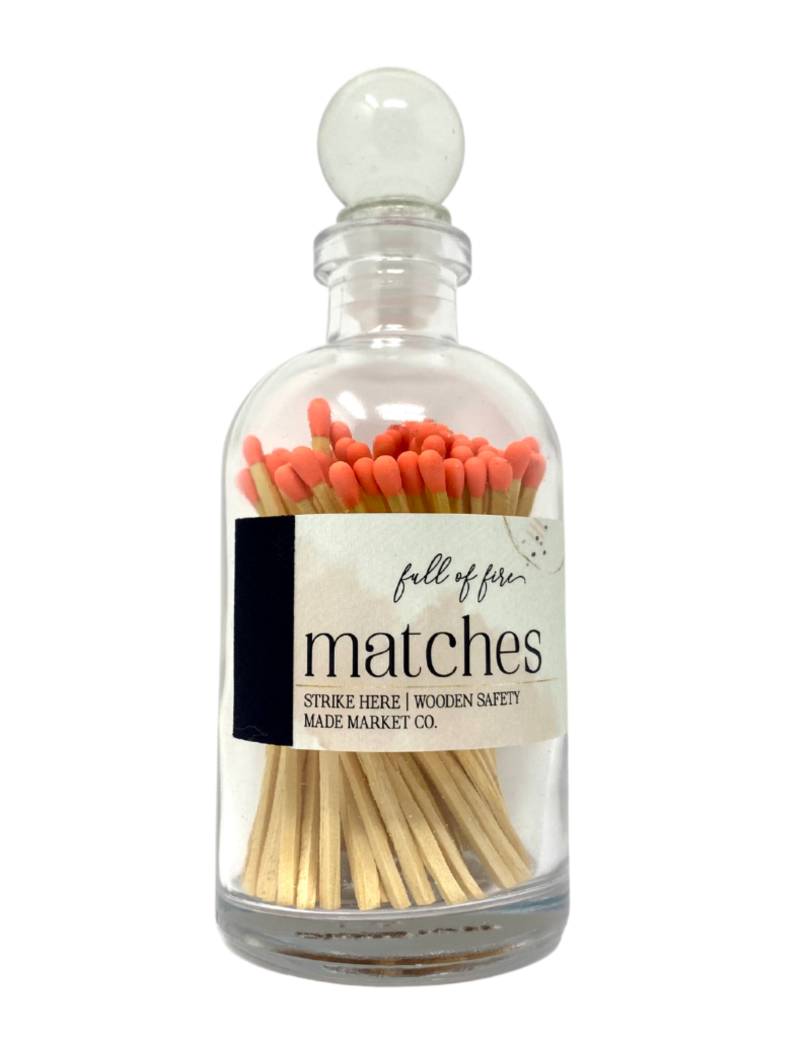 Full of Fire Matches  Coral