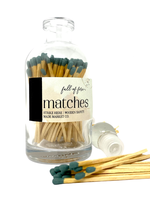 Full of Fire Matches  Deep Teal