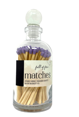 Full of Fire Matches  Lavender