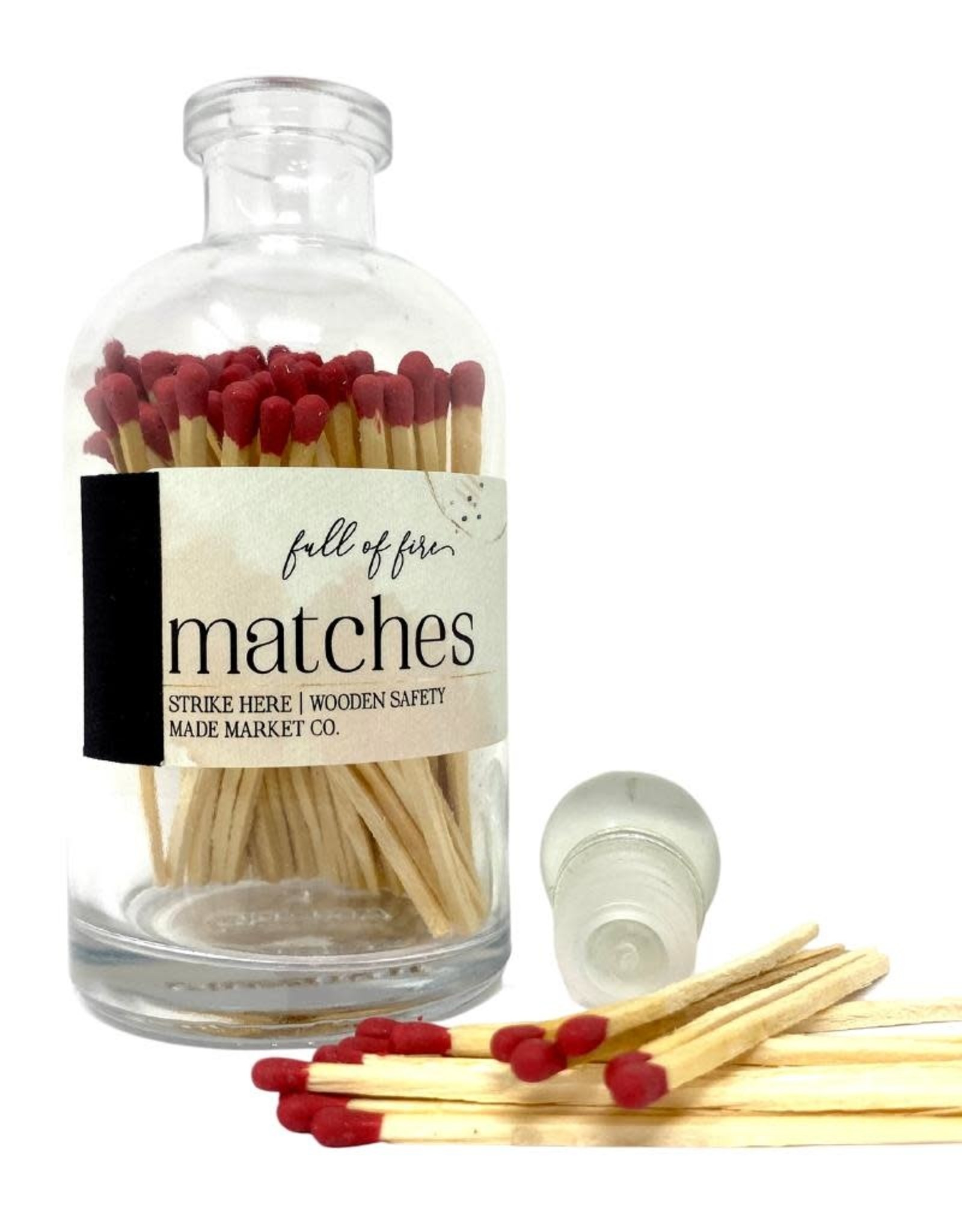 Full of Fire Matches  Maroon