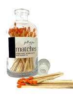 Full of Fire Matches  Orange