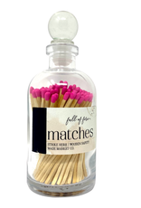 Full of Fire Matches  Pink