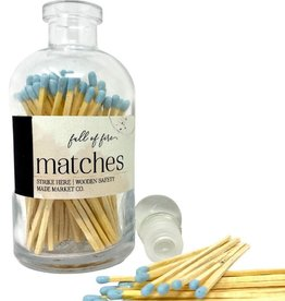 Full of Fire Matches Powder Blue