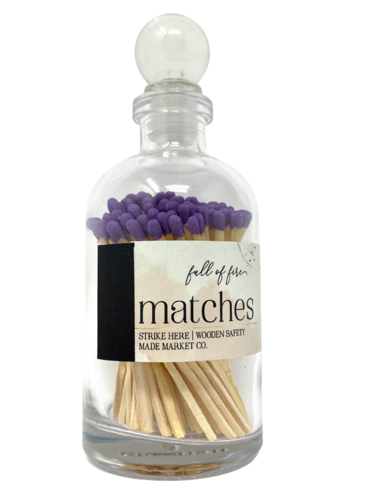 Full of Fire Matches  Purple