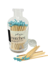Full of Fire Matches  Teal