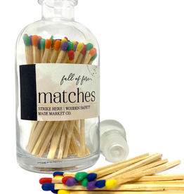 Full of Fire Matches Rainbow