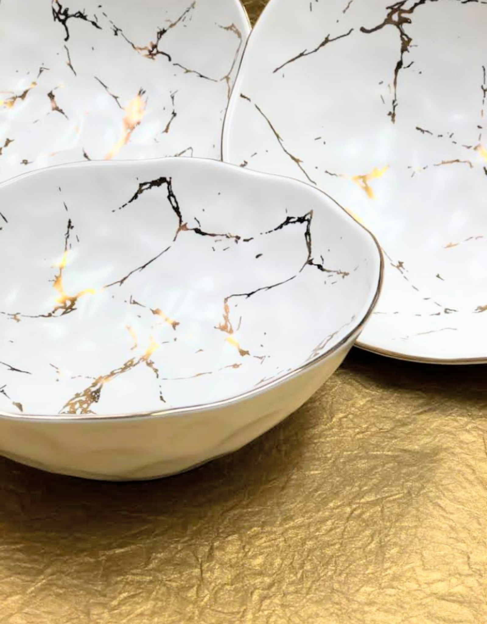 Medium Gold Flex Bowl