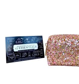 Minimergency Kit Glitter Rose Gold