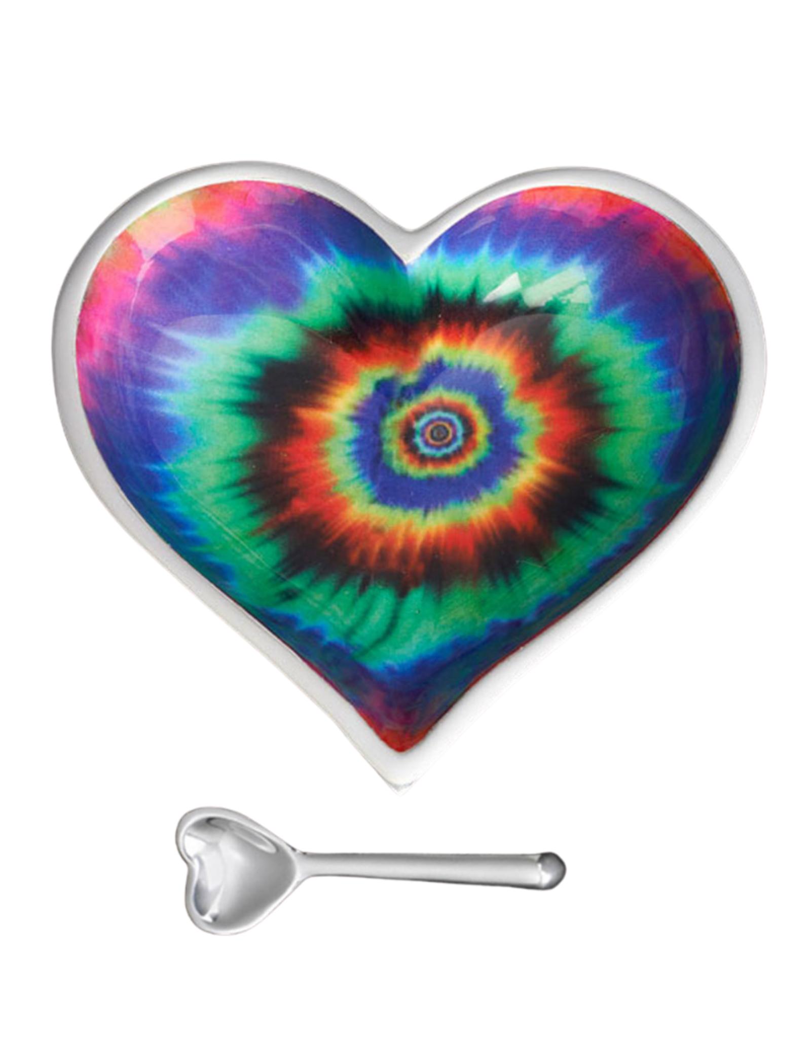 Groovy Heart Bowl & Spoon