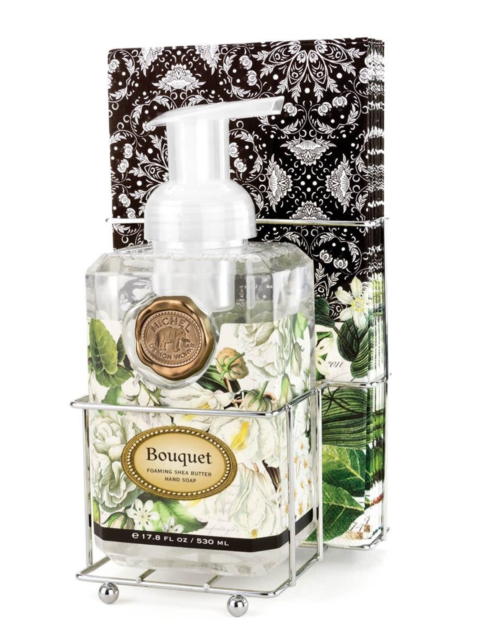 Bouquet Foaming Soap Napkin Set