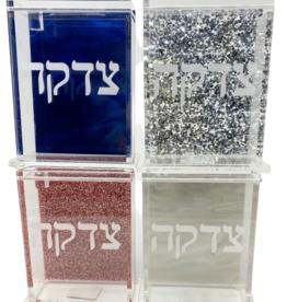 Acrylic Tzedaka Boxes