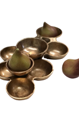 Gold Cluster Bowl