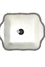 White Porcelain Square Baking Dish