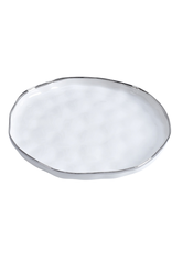 Large White Porcelain Serving Platter