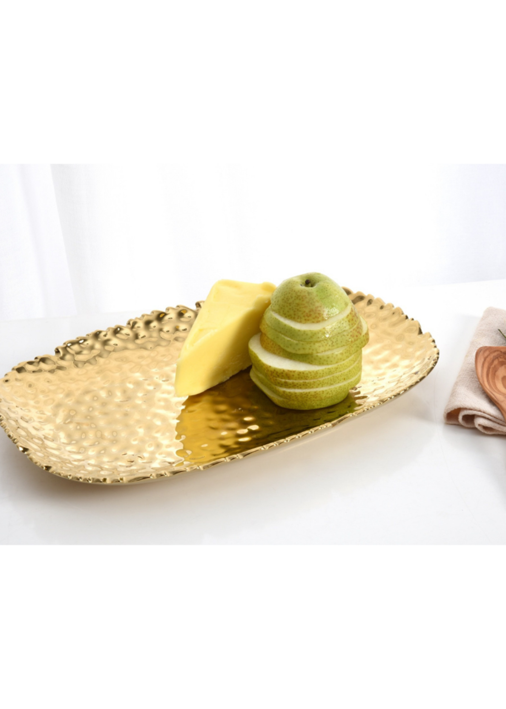 Small Gold Serving Platter