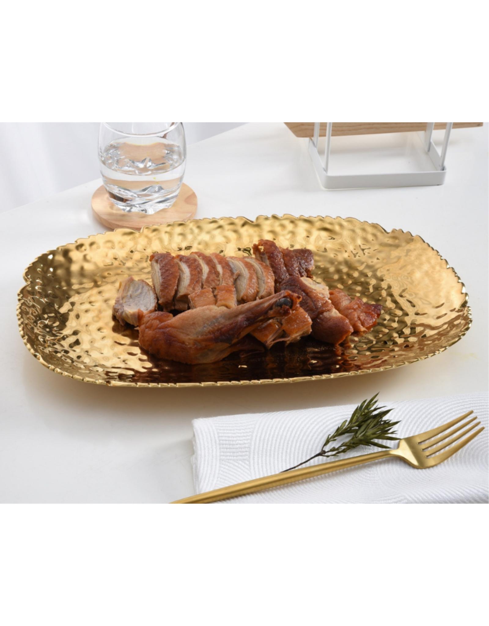Medium Gold Serving Platter