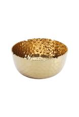 Large Gold Round Bowl