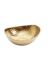 Large Oval Gold Bowl