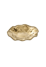 Small Wavy Gold Serving Platter
