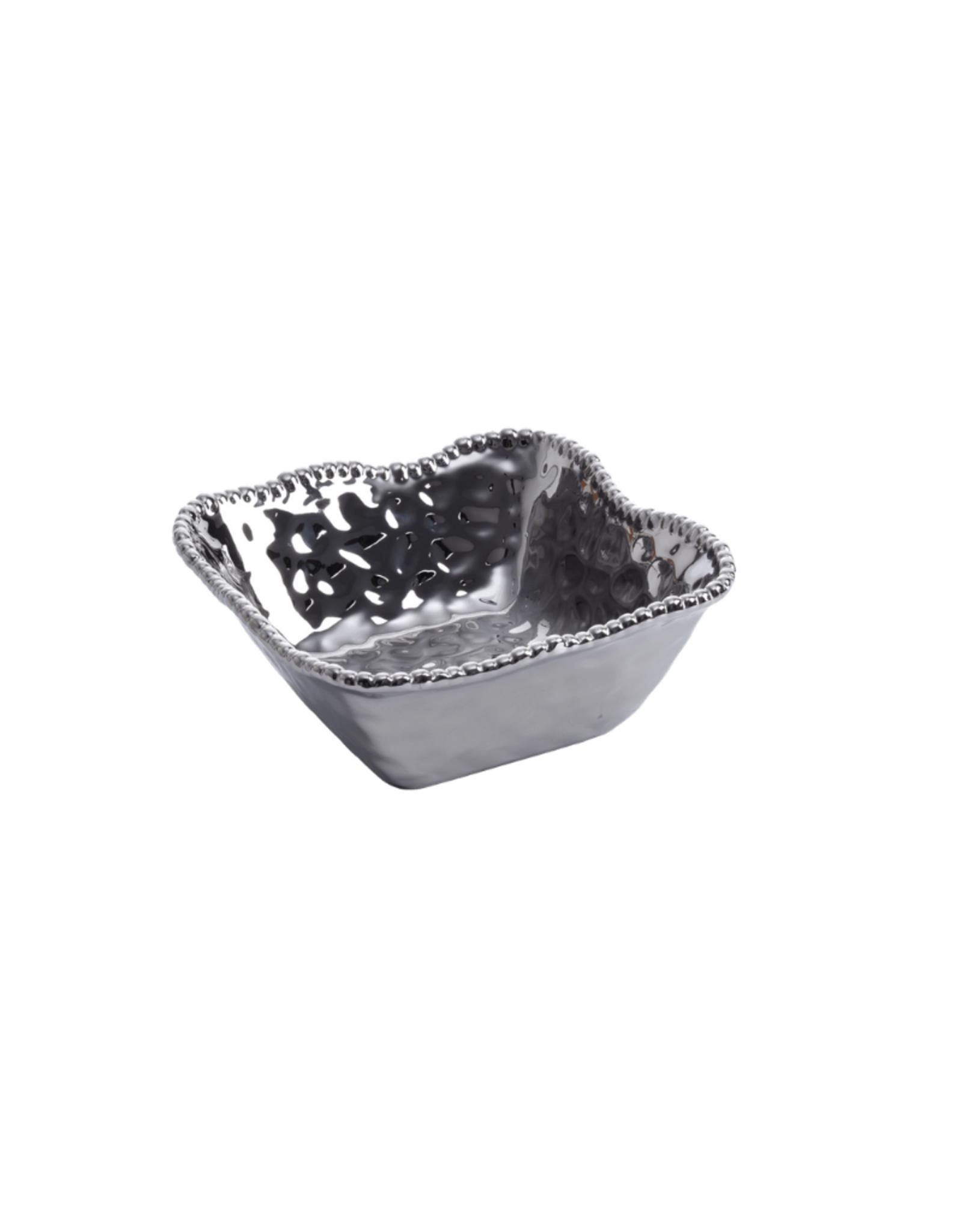 Porcelain Medium Square Bowl