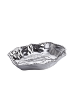 Wavy Porcelain Serving Bowl