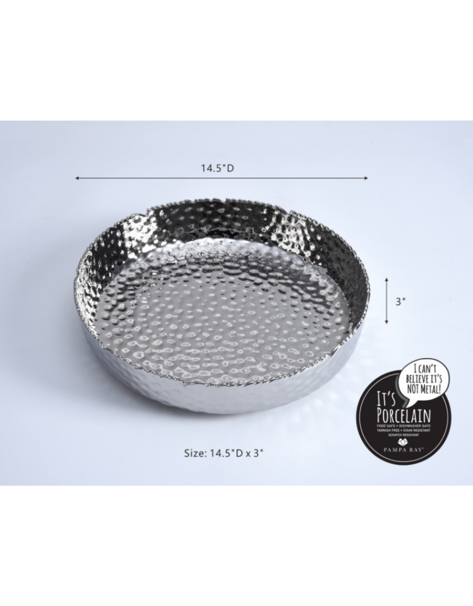 Extra Large Shallow Serving Bowl