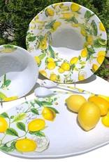 Lemon Basil Melamine Large Oval Platter SWPO8