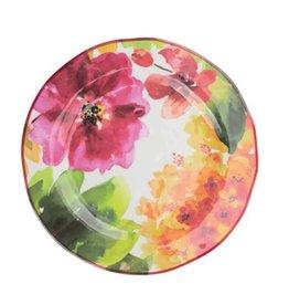 "Supreme Housewares Pink Floral 11"" Plate"