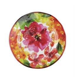 "Supreme Housewares Pink Floral Plate 9"""