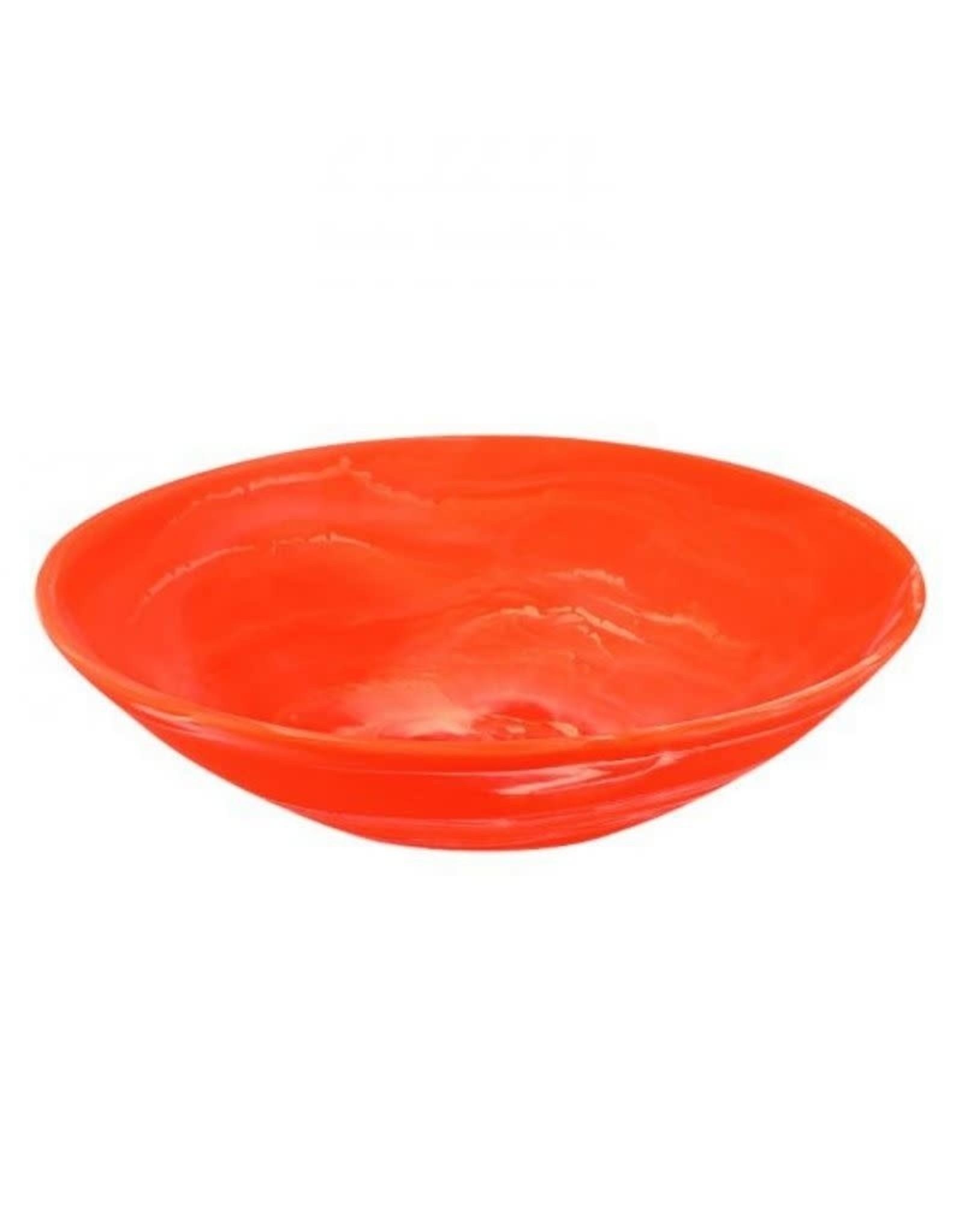 Nashi Home Everyday Medium Bowl with Servers Set Apricot Swirl